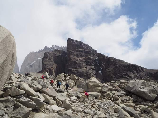 Mirador base de torres del Paine