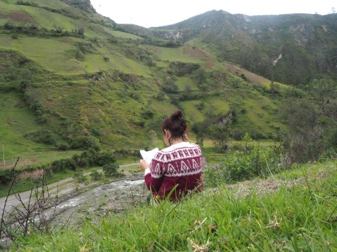 Quilotoa Loop buscando el camino