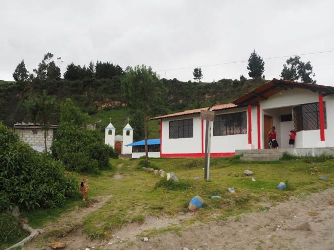 Quilotoa Loop pueblo