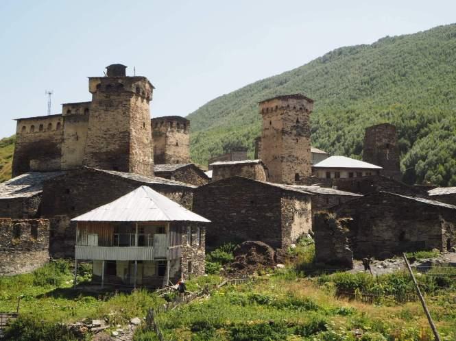 Ushguli y torres de Svaneti