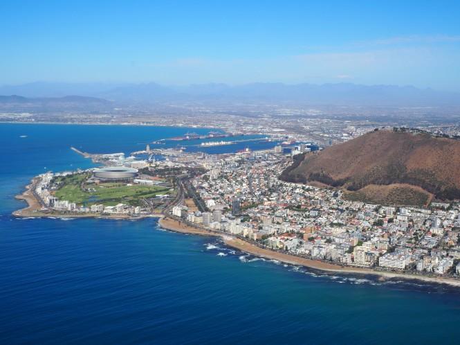 helicóptero Ciudad del Cabo, qué hacer