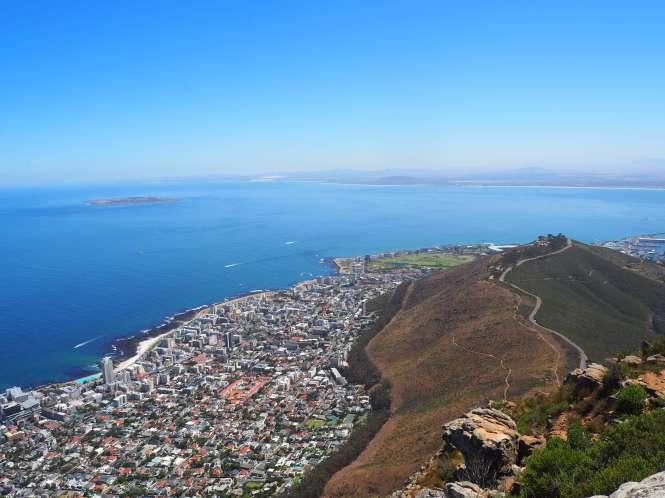 Vista de Robben island Guía Ciudad del Cabo
