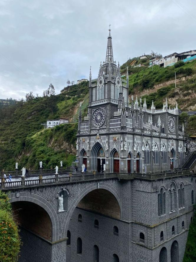 Las Lajas Cruzar frontera Ecuador Colombia