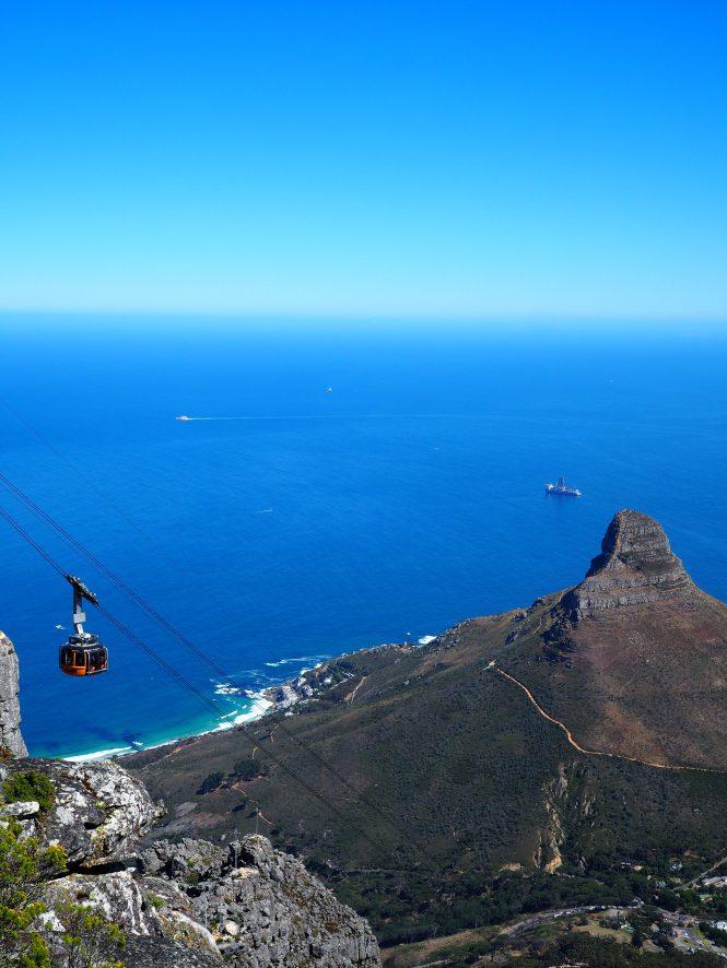 Vistas desde Table Mountain que hacer en Ciudad del Cabo