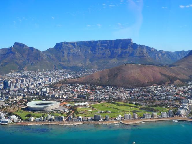 vuelo en helicóptero Ciudad del Cabo, qué hacer