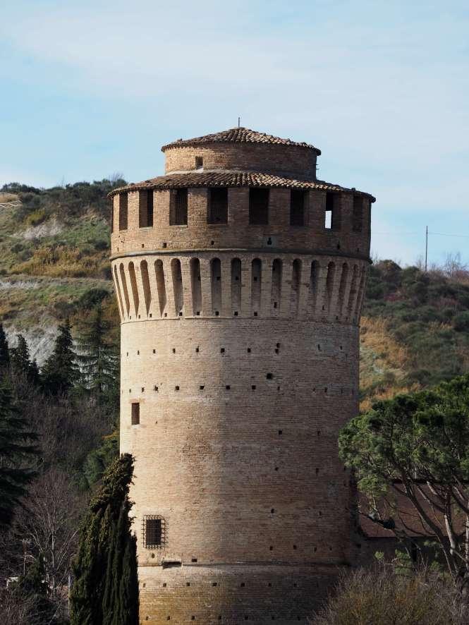 detalle castillo Brisighella