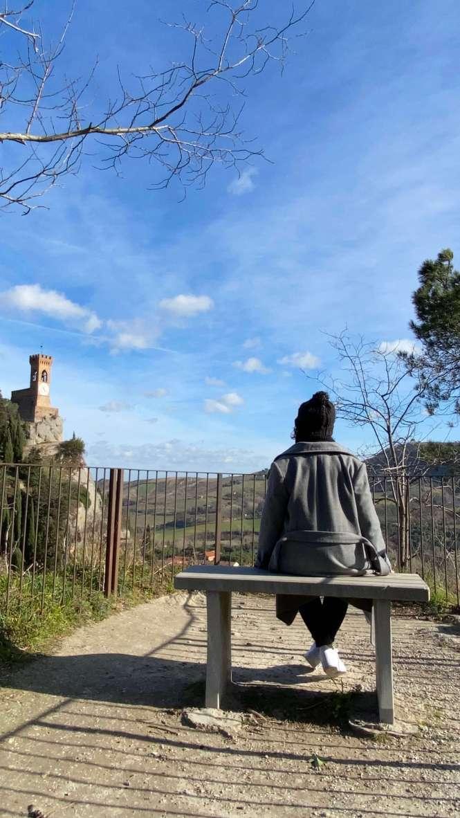 brisighella pueblo más bonito norte de Italia mirador