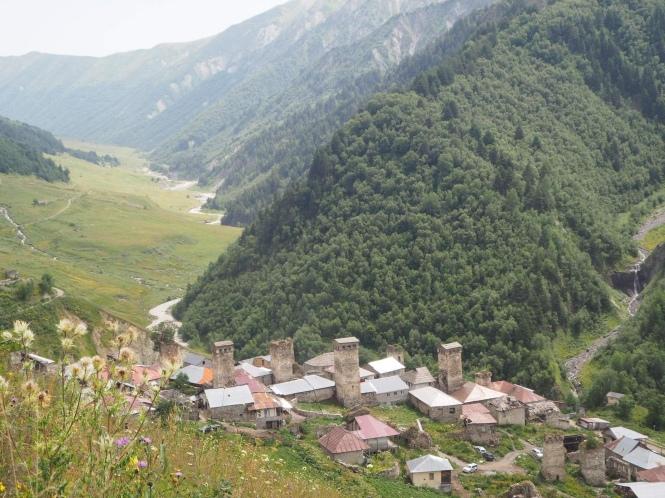 Adishi en el trekking Mestia a Ushguli