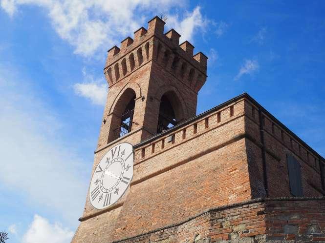 torre orologio Brisighella