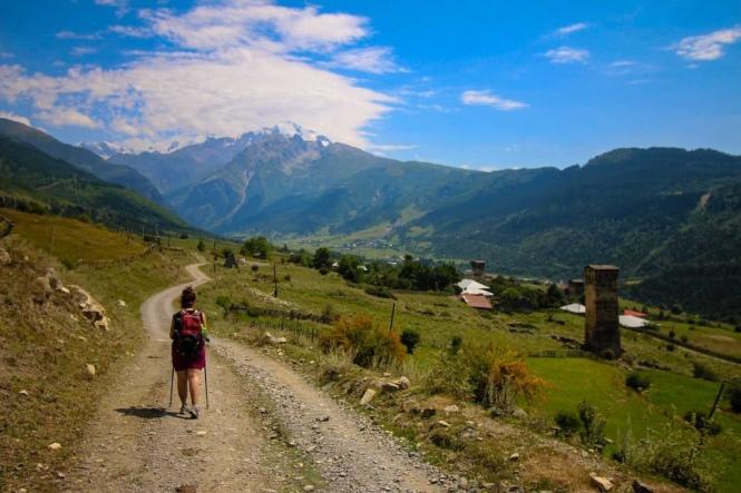 Trekking Mestia a Ushguli